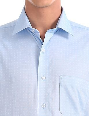 Arrow Regular Fit French Placket Shirt