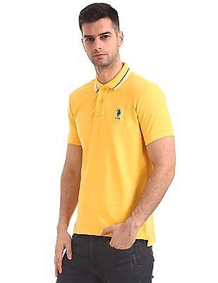 U.S. Polo Assn. Regular Fit Short Sleeve Polo Shirt