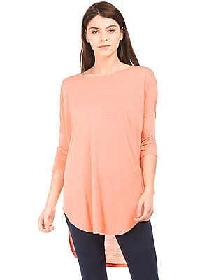 Cherokee High Low Hem Longline Top