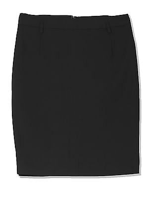 Arrow Woman Solid Pencil Skirt