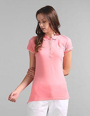 GAP Brand Embellished Polo Shirt