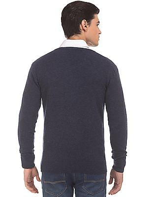 Izod V-Neck Slim Fit Sweater