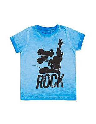 Colt Boys Mickey Mouse Printed T-Shirt