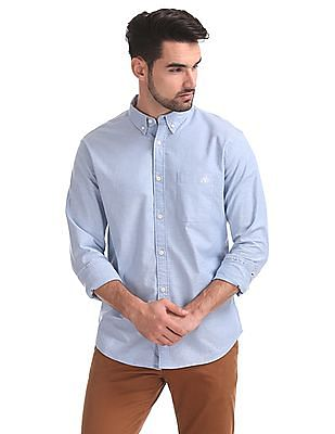 Aeropostale Regular Fit Solid Shirt