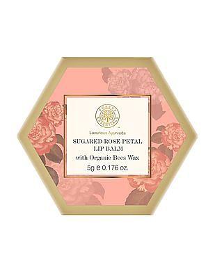 FOREST ESSENTIALS Sugared Rose Petal Lip Balm
