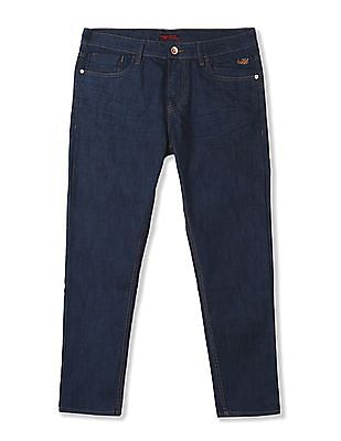 Flying Machine Mankle Tapered Fit Whiskered Jeans
