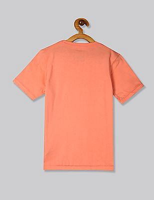 GAP Orange Boys 50th Short Sleeve T-Shirt