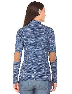 Cherokee Tonal Stripe Longline Top