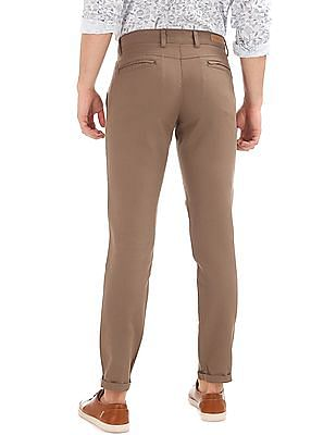Ruggers Modern Fit Flat Front Trousers
