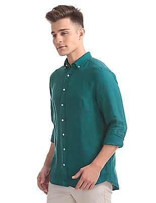 Gant Original Eco Garment Dye Linen Regular Button Down