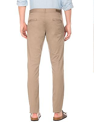Ruggers Flat Front Tapered Fit Trousers