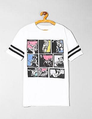 GAP Boys Marvel Graphic Short Sleeve T-Shirt