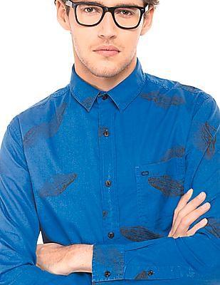 Colt UFO Printed Cotton Shirt