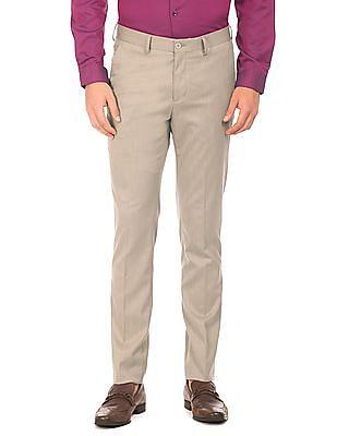 Excalibur Patterned Weave Super Slim Fit Trousers