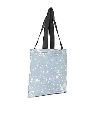 Aeropostale Acid Wash Denim Tote Bag