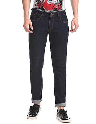 Newport Blue Skinny Fit Rinsed Jeans