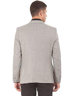 Arrow Single Breasted Patterned Blazer