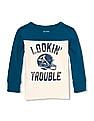 The Children's Place Toddler Boy Long Sleeve Colour Blocked Sweatshirt
