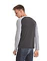 Roots by Ruggers Colour Blocked Long Sleeve T-Shirt
