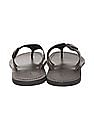 Arrow Thong Strap Leather Sandals