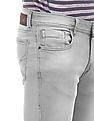 Flying Machine Mid Rise Slim Tapered Jeans