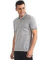 Izod Printed Short Sleeve Polo Shirt