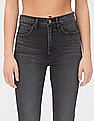 GAP Black High Rise Cigarette Jeans With Secret Smoothing Pockets