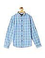 Cherokee Boys Check Cotton Shirt
