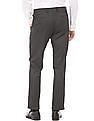 Arrow Newyork Check Tapered Fit Trousers