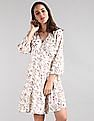 GAP Floral Print Wrap Dress