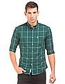 U.S. Polo Assn. Windowpane Check Button Down Shirt
