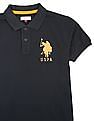 U.S. Polo Assn. Kids Boys Regular Fit Pique Polo Shirt