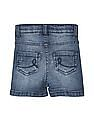 Cherokee Girls Slim Fit Washed Shorts