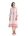 Anahi Tie Up Waist Printed Kurta