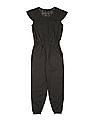 Cherokee Girls Lace Trim Jumpsuit