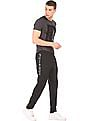 Ed Hardy Mesh Panelled Slim Fit Joggers
