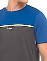 USPA Active Colour Blocked Active T-Shirt