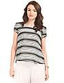 Arrow Woman Striped Woven Top