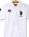 U.S. Polo Assn. Short Sleeve Appliqued Polo Shirt