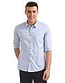 Flying Machine Standard Fit Solid Shirt