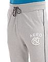 Aeropostale Drawstrings Waist Heathered Track Pants
