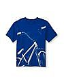 The Children's Place Boys Short Sleeve Active Active Graphic Tee