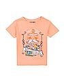 FM Boys Graphic Print Slim Fit T-Shirt