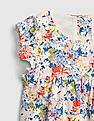 GAP Toddler Girl Floral Ruffle-Sleeve Dress