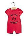 GAP Baby Red Never Crabby Shortie One-Piece