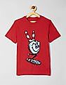 GAP Red Boys Americana Graphic Short Sleeve T-Shirt