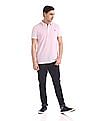 Roots by Ruggers Regular Fit Heathered Polo Shirt