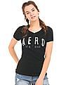 Aeropostale Appliqued Ribbed Henley T-Shirt