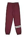 The Children's Place Girls Red Active Foil Stripe Pants