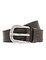 Flying Machine Grained Leather Belt
